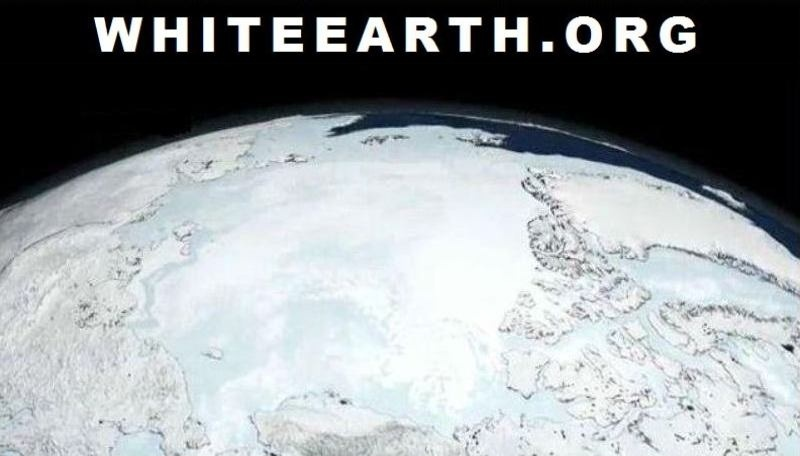 WhiteEarthWhite EarthBackgroundWhiteNasaArchiveNorthPoleIceMeltingCritical